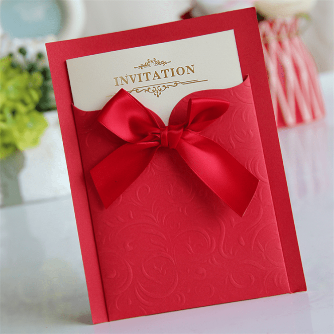 China Design Best Price High Quality Wedding Invitation Cards Chinese Card Invitations