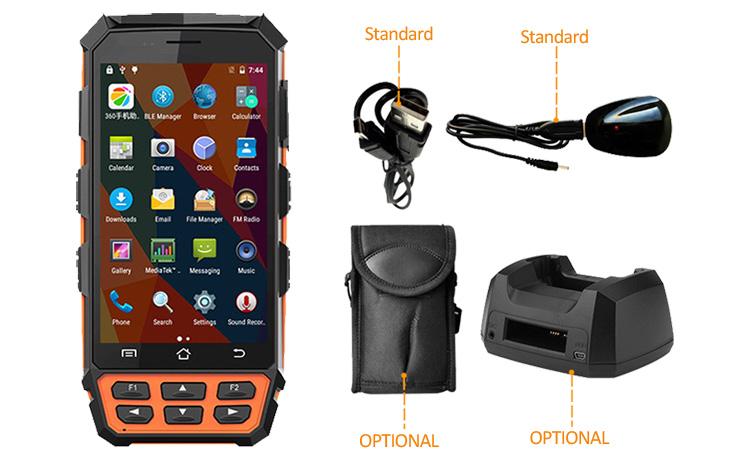 Industrial Reader Mid-range Handheld Uhf Rfid Scanner ...