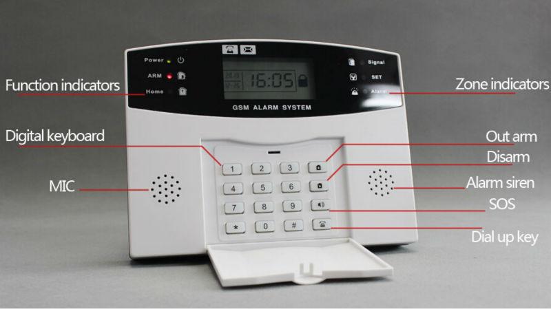 Gsm Security Alarm System Pg 500