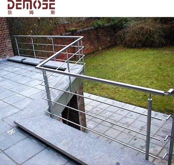 Modern Metal Stair Hand Railings For Outside Wpc Balcony Stair | Modern Stair Hand Railing | Creative Outdoor Stair | Wooden Stair | Decorative | Curved Metal | Diy Modern