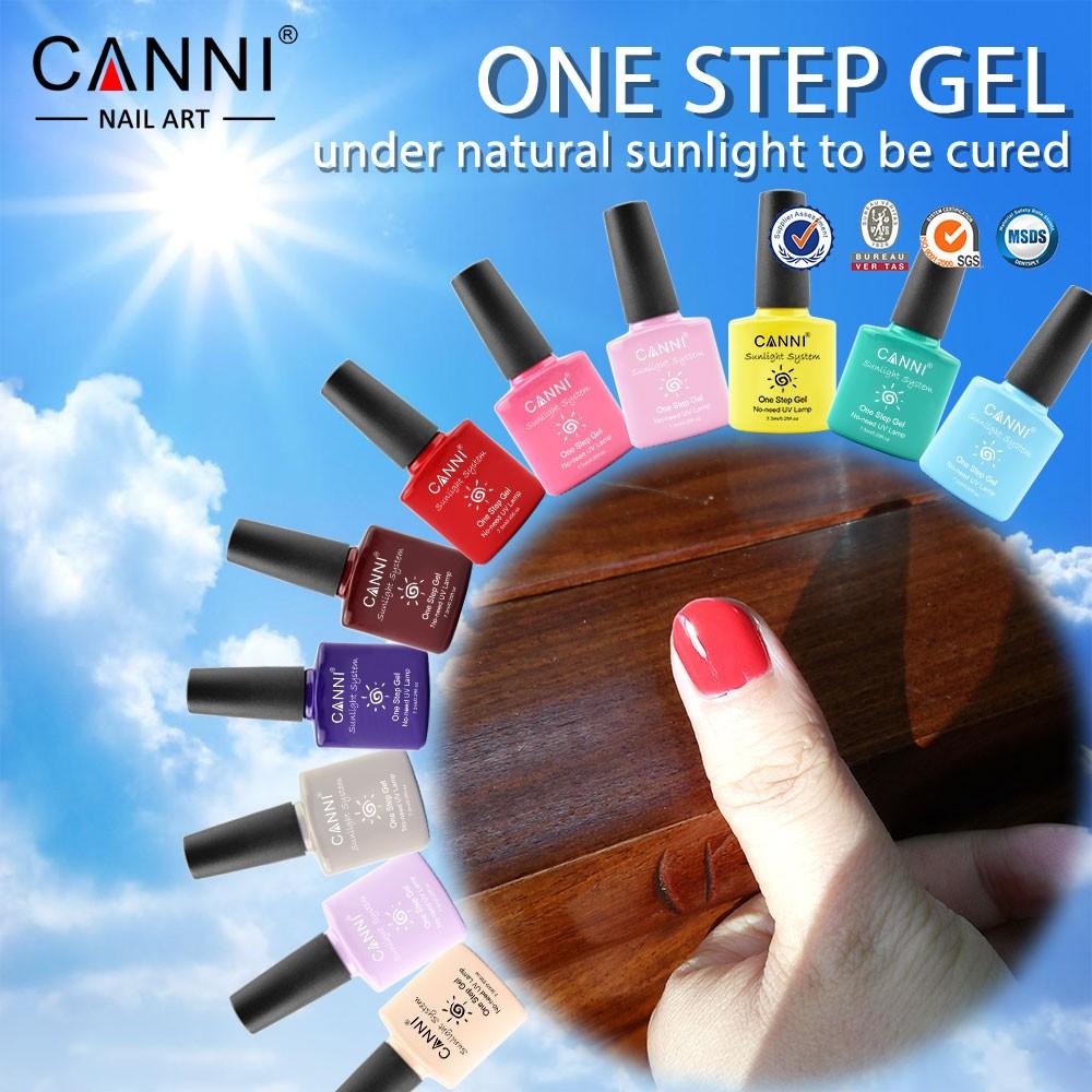 51263a Manicure Canni Nail Use One Step Gel Polish 7 3ml Uv Soak