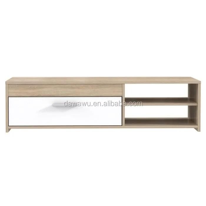meuble tv 120 cm chene blanc brillant buy tv stand meuble tv product on alibaba com