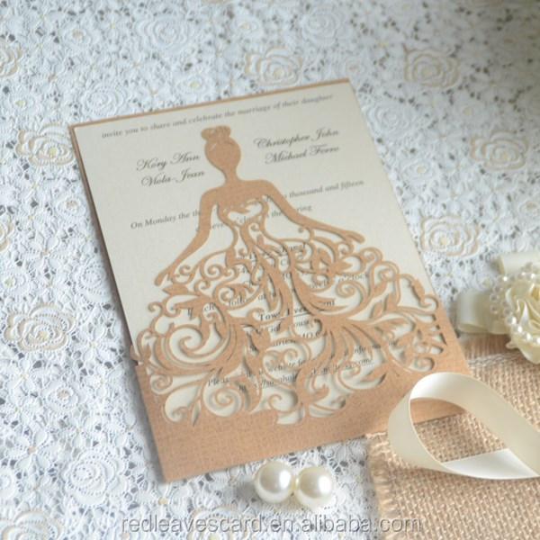 Fashionable 3d Pop Up Wedding Card Printing Invitation