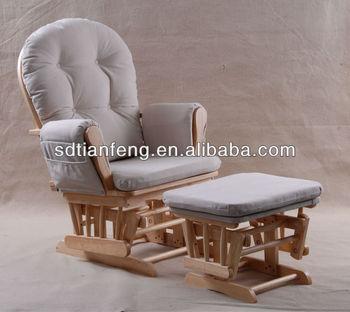d allaitement de bebe a bascule chaise avec pouf