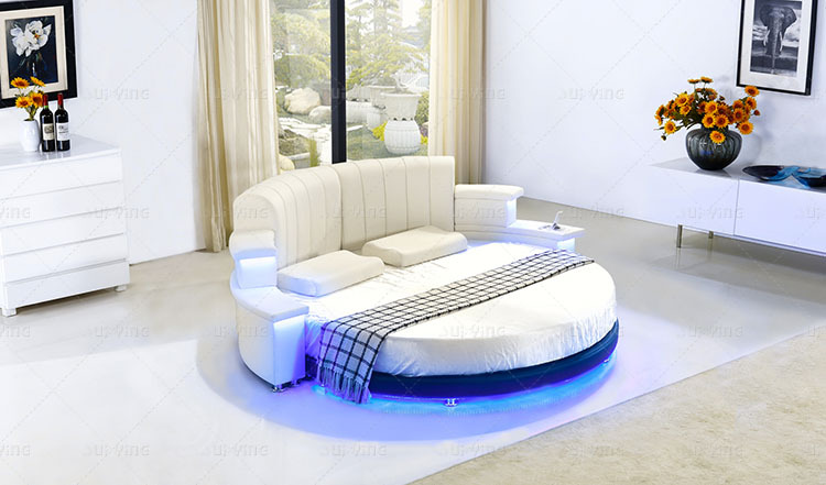 Modern King Size Round Bed Cy006 Buy King Size Round Bed