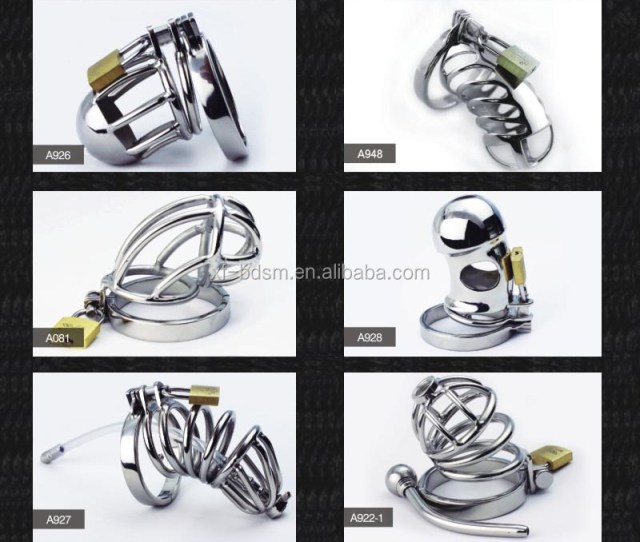 Stainless Steel Male Chastity Belt Bondage Toys Metal Cock Devices For Men Gay Adult Sex Product