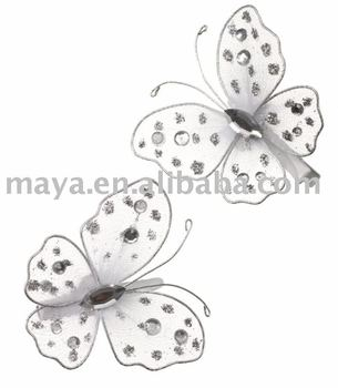 white butterfly clips butterfly clips metal butterfly clips butterfly hair clips product