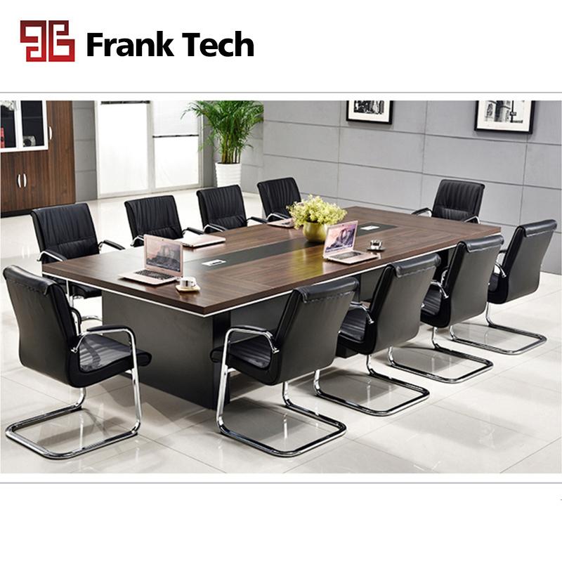 moderne de luxe grande salle rectangulaire 10 personnes table de conference pour 5m buy table de reunion de bureau table de conference de 10
