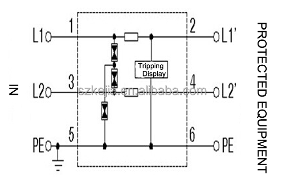 Abb Surge Protector Wiring Diagram : 34 Wiring Diagram
