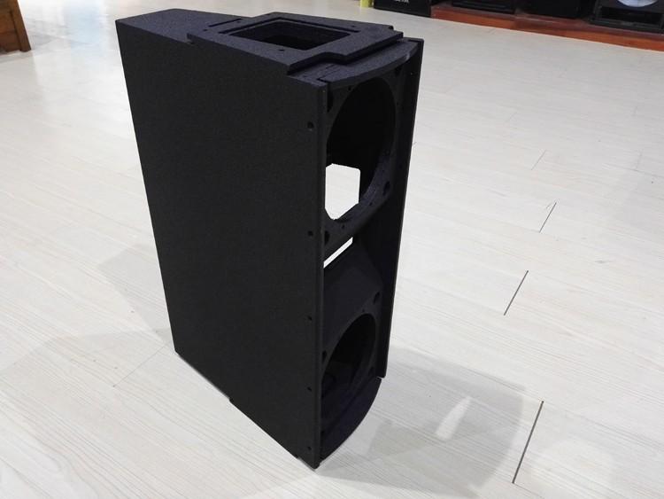 double 10 ligne tableau haut parleur vide armoire
