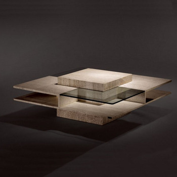 mode moderne conceptions travertin marbre table basse salon table basse en pierre travertin table basse