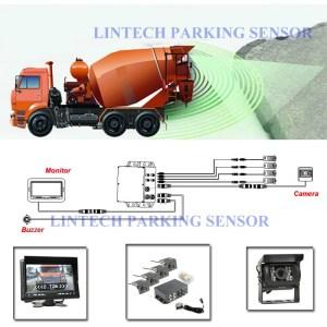 Forklift Safety System With 7 Inch Monitor Back Camera And Sensor For Alarm  Buy Forklift