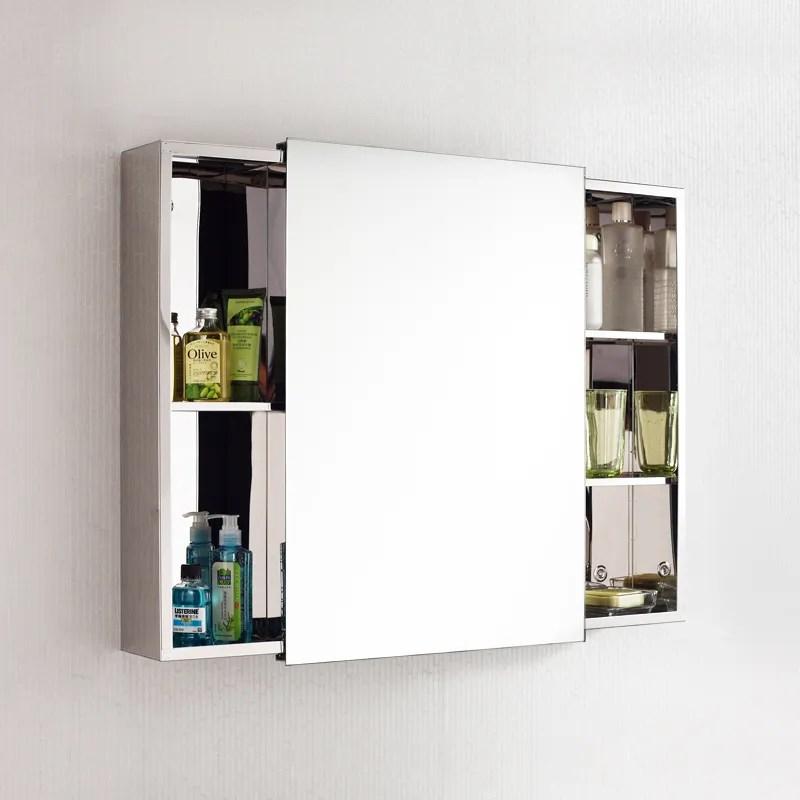 portes coulissantes de salle de bains armoire a miroir 7094 pratique et bon prix buy meuble miroir de salle de bain avec lumiere meuble miroir de