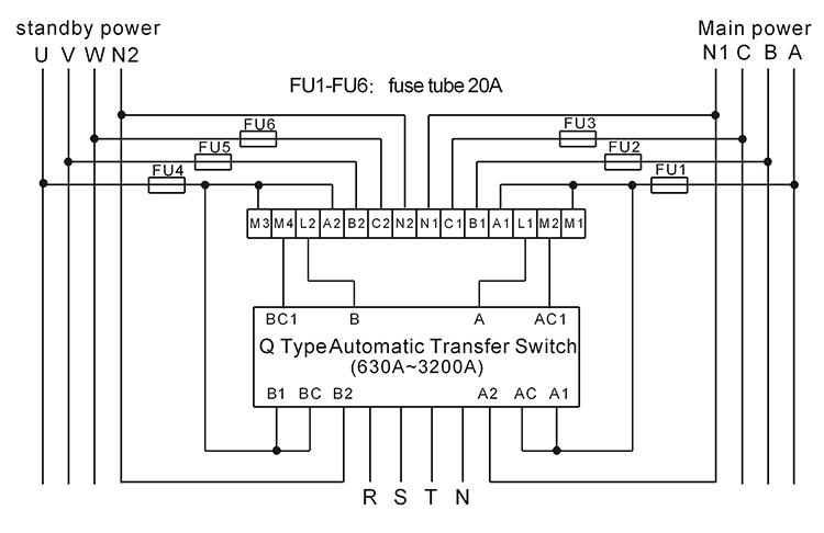 Generator Transfer Switch Wiring Diagram Periodic Diagrams Science: Sdmo Manual Transfer Switch Wiring Diagram At Imakadima.org