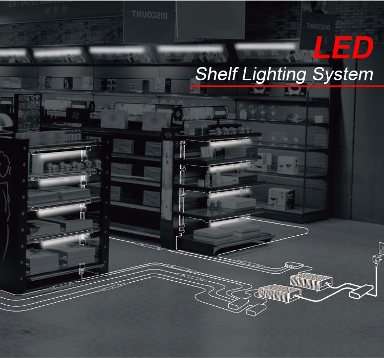 supermarket under flat strip led shelf light buy lighting system lighting for shelf led lighting product on alibaba com