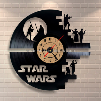 Recycling Vinyl Records Nightstand Lamp Diy Room Decor Creative Idea