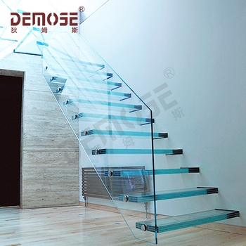 Hot Sale Tempered Glass Panel Stairs With Glass Stairs Price Buy | Tempered Glass Panels For Stairs | Metal | Glass Balustrade | Newel Post | Acrylic | Bannister