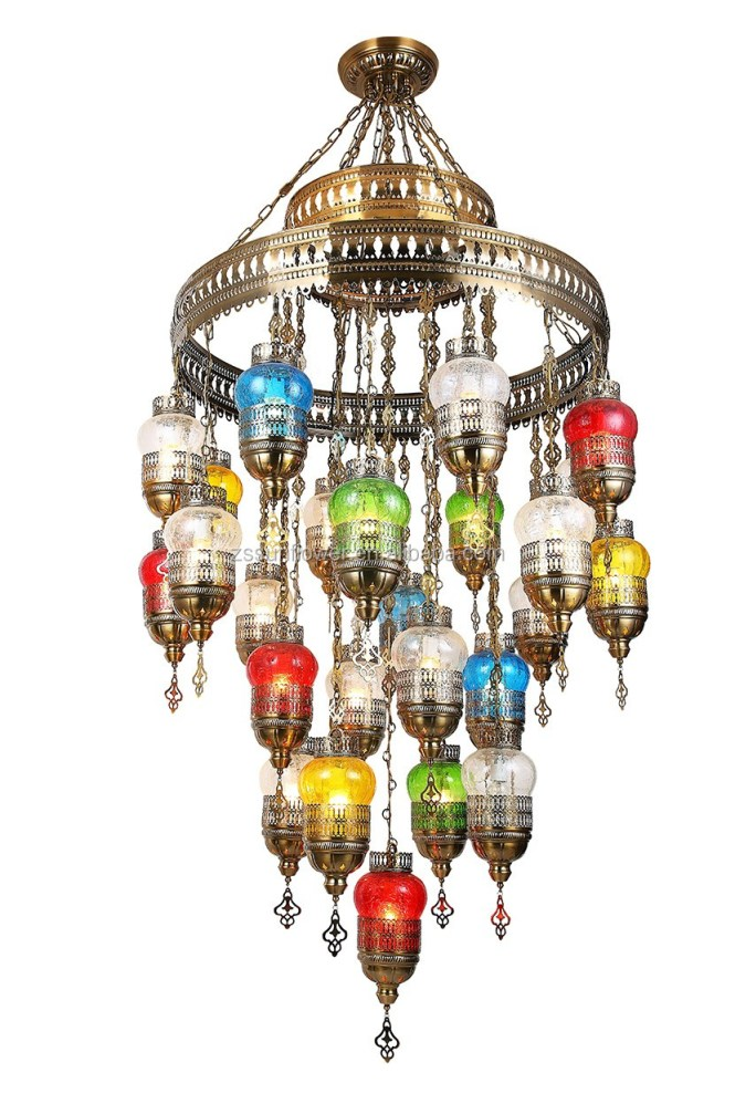 China Multi Colored Glass Chandelier Manufacturers And Suppliers On Alibaba