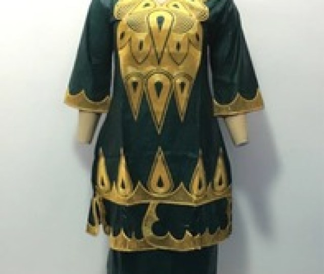 Wholesale Traditional Dress Nigeria Fashion Guinea Brocade Bazin Riche Dresses For Women
