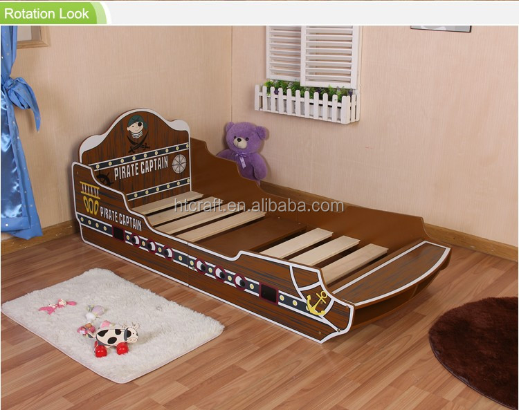 Fb004 Warm Hot SaleWooden Kids Bedroom Furniture Set