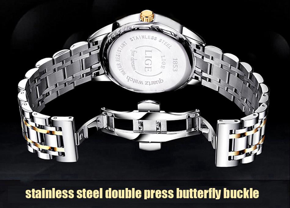 HTB1Vczdf4rI8KJjy0Fpq6z5hVXam LIGE Watch Men Fashion Sports Quartz Full Steel Gold Business Mens Watches Top Brand Luxury Waterproof Watch Relogio Masculino