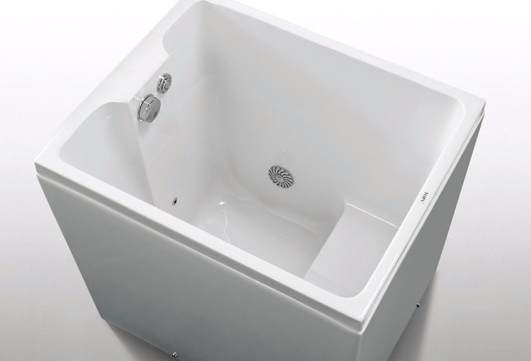 09m Length Bath Tub Mini Indoor Hot Tub Small Bathtub Sizes For Fat People Easy