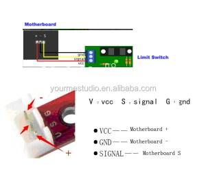 Original 3d Printer Photoelectric Stop Limit Switch