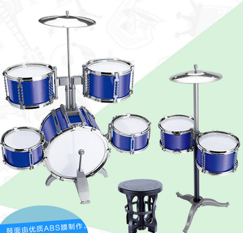 Jazz Drum Play At Home Cool Metal Toy Drum Set For Kids   Buy Metal     Jazz drum play at home cool metal toy drum set for kids