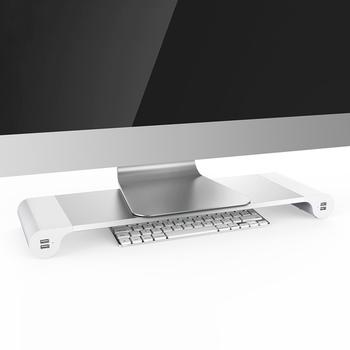 support d ordinateur portable en aluminium pour macbook et pc reglable refroidissement portable support
