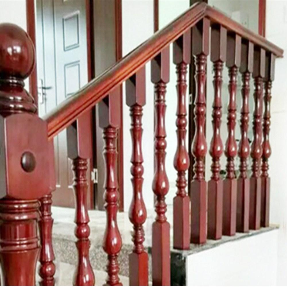 Philippines Customized Exterior Wood Stair Railing Design Buy   Exterior Wood Stair Railing   Staircase   Aluminum   Indoor   Landing   Commercial Building