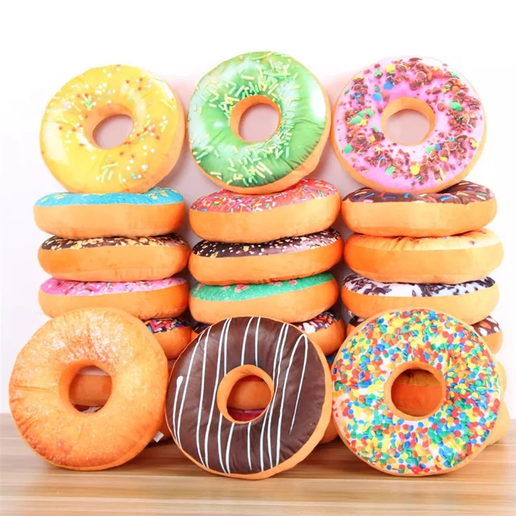 donut cushion hot sale creative high quality soft and cute buy donut cushion donut cushion donut pillow new design and customized product on