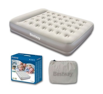Bestway 67459 203 X 152 38cm Luxury Lounger Inflatable Pregnancy Hole Air Mattress Full Size