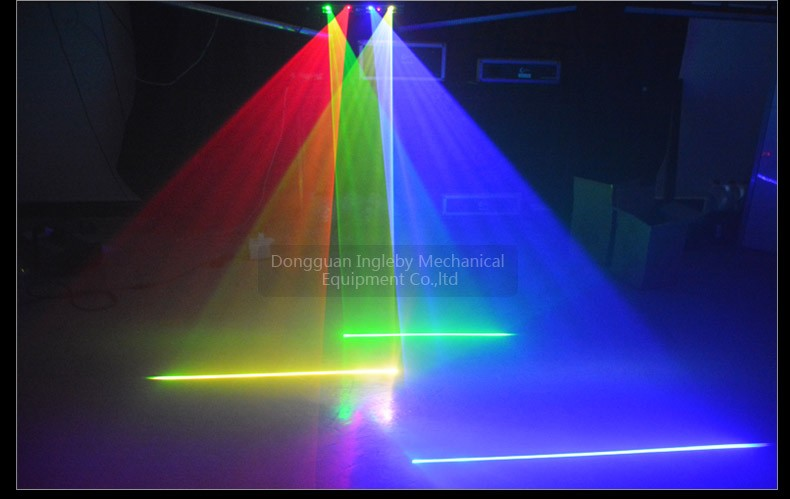 Cheap Price 4 Lens 4 Heads Multi Color Dj Equipment Stage