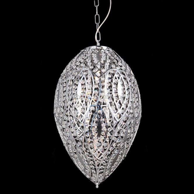 Tear Shape Silver Chain Chandelier Modern Design 71124 Product On Alibaba