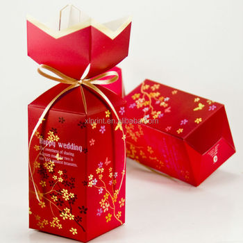 Chinese New Year Candy Gift Boxindian Wedding Favor Boxes
