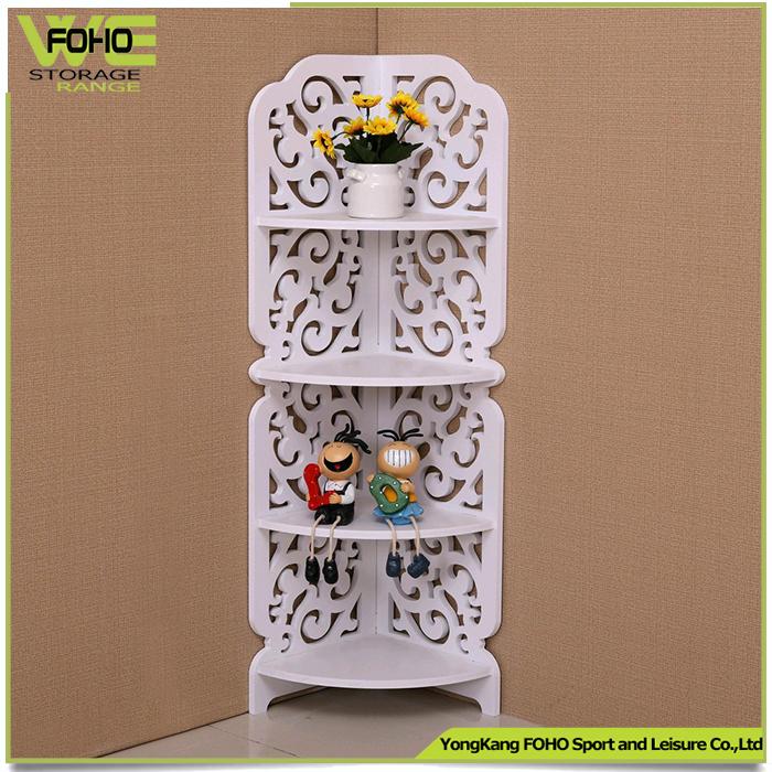 etagere de rangement couleur blanche simple petite etagere sculptee a la mode pour le salon etagere d angle de salle de bain buy etagere de