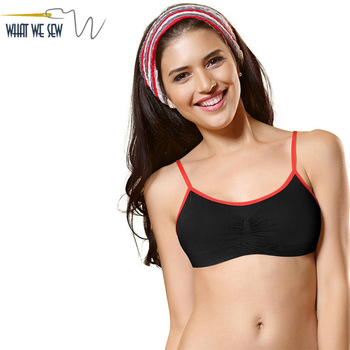 Custom Teen Sport Hot Sexy Comfort Seamless Xxxx Slip On Sports Bra