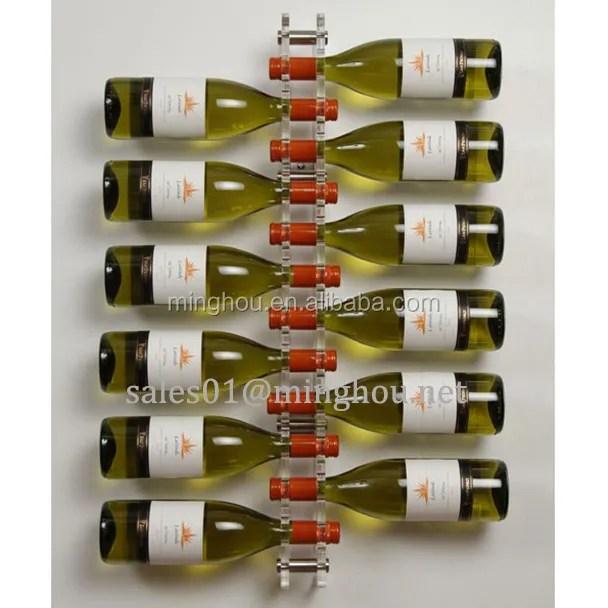 porte vin en plexiglas transparent support mural en acrylique 2020 buy acrylique cave a vin mural acrylique cave a vin en acrylique transparent cave