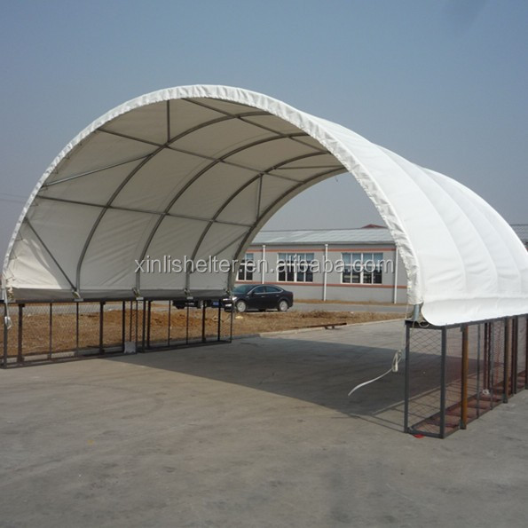 Truss Warehouse Dome Fabric Storage Shedcontainer Shelter