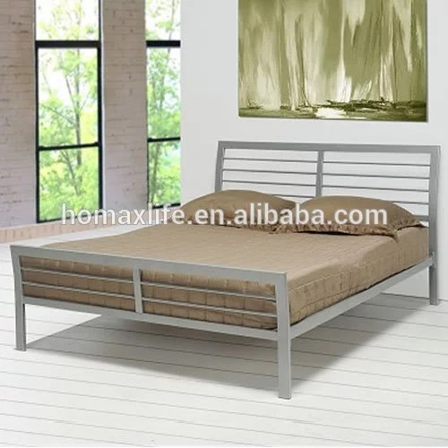 meuble double lit en fer forge mobilier de maison lit moderne en metal bois offre speciale buy meubles de maison en fer forge design de lit double