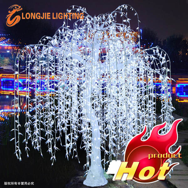 High Artificial Led Willow Tree Lightwhite Outdoor Led
