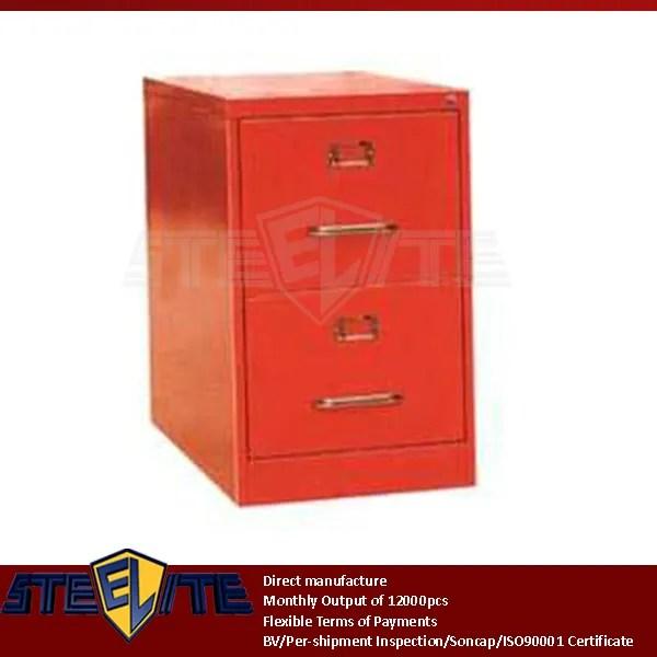 boite de rangement a 2 tiroirs en fer boite de rangement pour fichiers a4 double compartiment en metal d occasion petit meuble pour enfants rouge