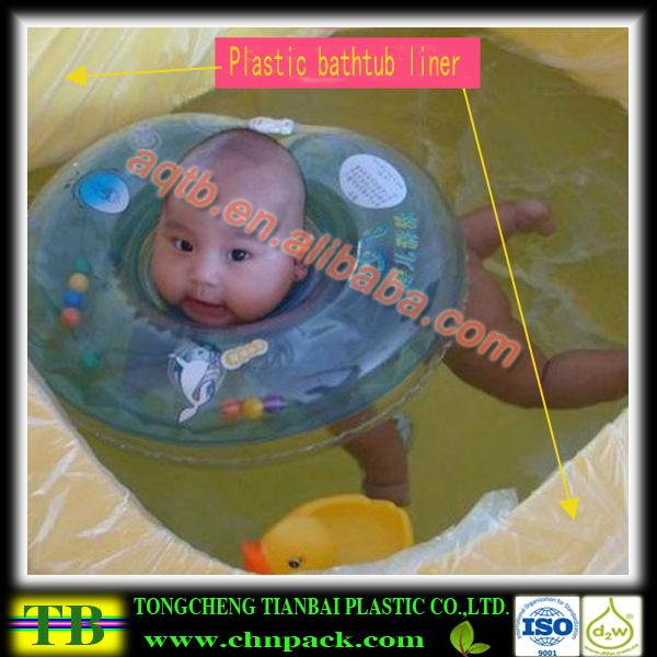Disposable Plastic Bathtub Liner For Children Buy