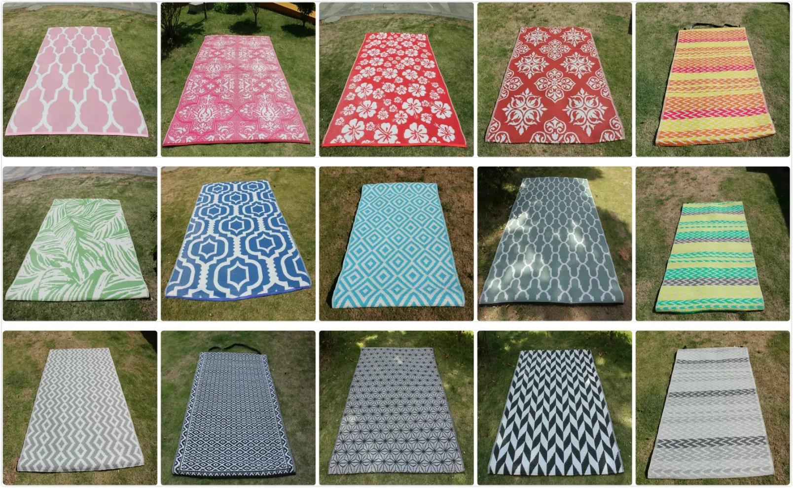znz tapis d exterieur en plastique tapis de pique nique pp 100 en polypropylene resistant aux uv buy tapis de camping tapis de pique nique tapis pp