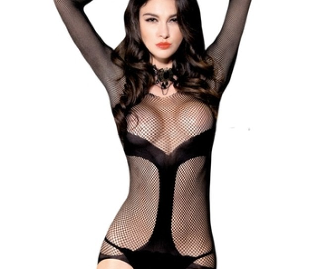 2017 New Fashion Hot Erotic Lace Black Sexy Bodystocking Lingerie