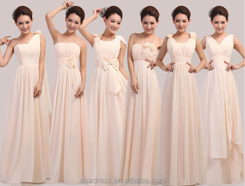Latest Dress Designs For Bridesmaid Real Sample Lilac Long