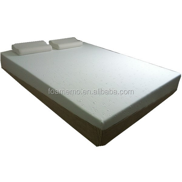 Factory Supply Velvet Fabric Hard Foam Portable Mattress