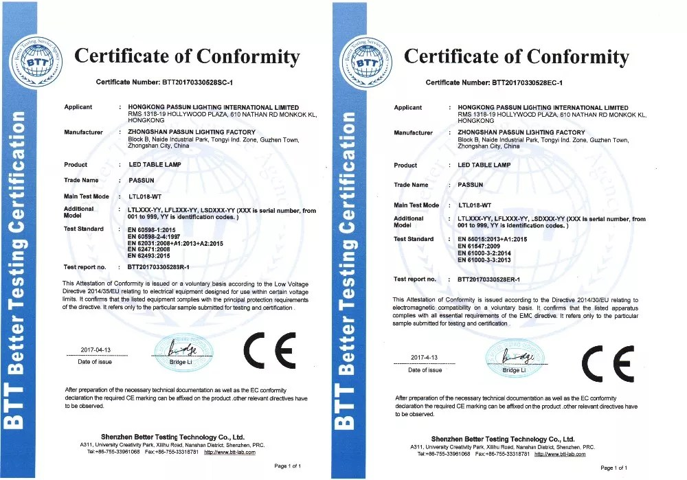 passun lighting factory led wall light ce emc lvd rohs certificate view passun lighting factory passun product details from zhongshan passun