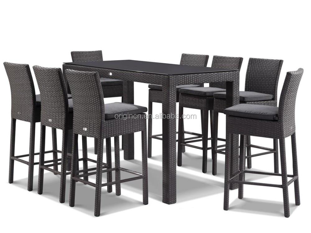 Table Haute Exterieure Finest Table Haute Exterieure With