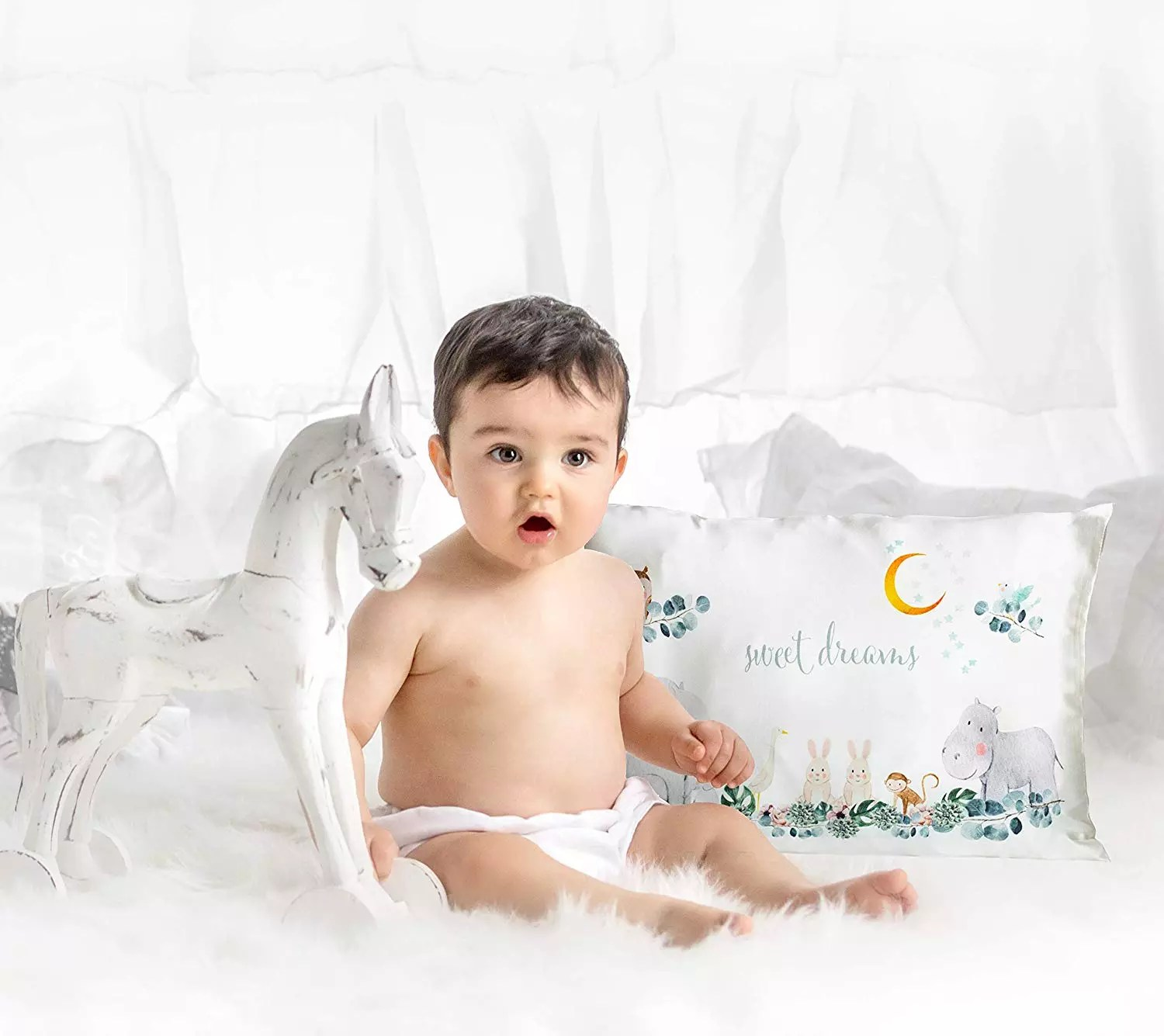 100 natural silk baby and kids sleeping pillow cover 13x18 hypoallergenic skin and hair protection girls and boys desi buy custom printed